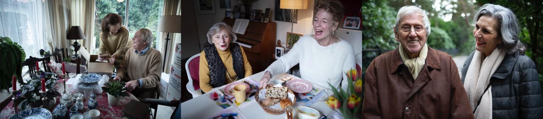 Opruimen, Eten, Lachen